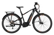 e-Trekkingbike Conway Cairon T 100 400 Trapez black / grey orange