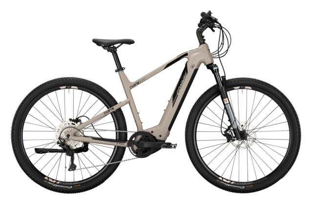 e-Crossbike Conway Cairon X 300 Trapez platin matt / black 2021