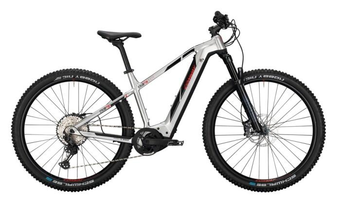 e-Mountainbike Conway Cairon S 829 polarsilver / black red 2021