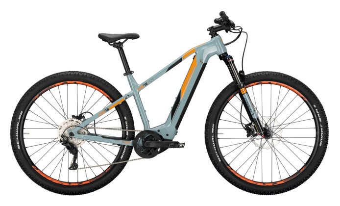 e-Mountainbike Conway Cairon S 529 grey / orange 2021