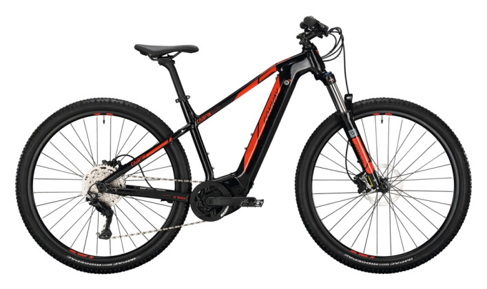 e-Mountainbike Conway Cairon S 429 black / red 2021