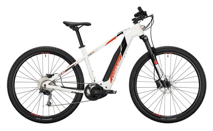 e-Mountainbike Conway Cairon S 329 white / red black 2021