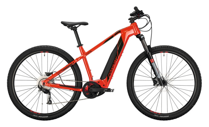 e-Mountainbike Conway Cairon S 229 red / black 2021