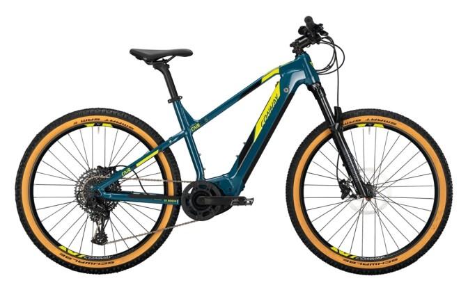 e-Mountainbike Conway Cairon S 627 Diamant darkpetrol / acid 2021