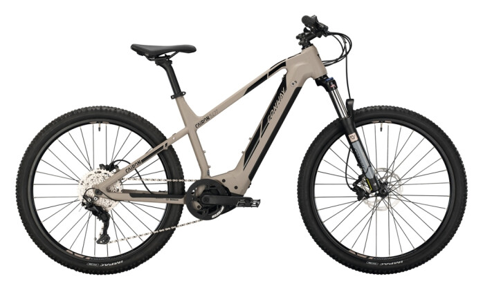 e-Mountainbike Conway Cairon S 427 Trapez platin matt / black 2021