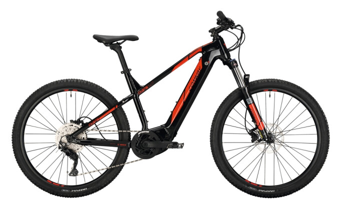 e-Mountainbike Conway Cairon S 427 Trapez black / red 2021