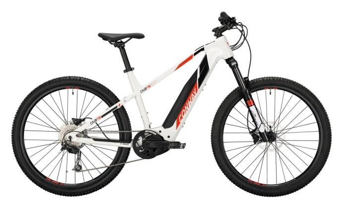 e-Mountainbike Conway Cairon S 327 Trapez white / red black 2021