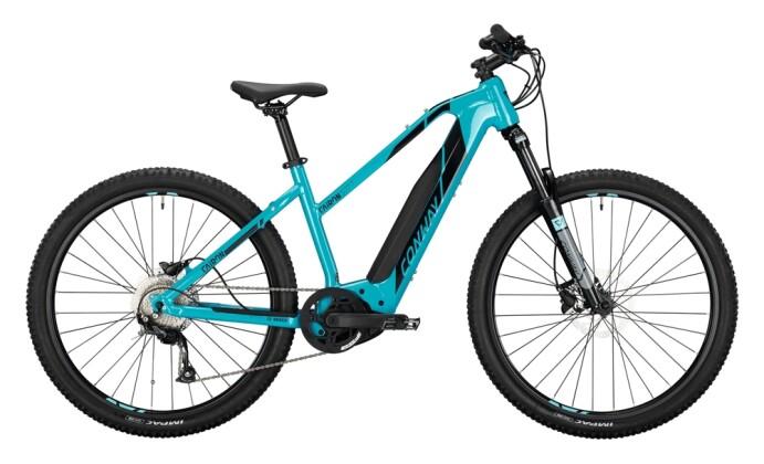e-Mountainbike Conway Cairon S 227 Trapez turquoise / black 2021