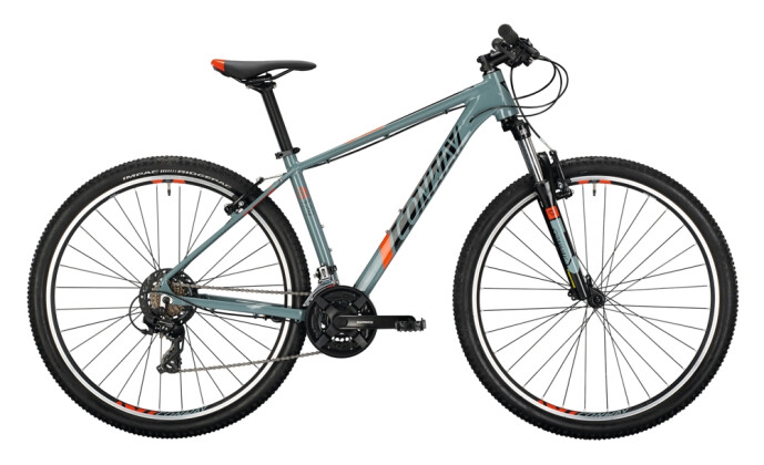 Mountainbike Conway MS 329 grey / black 2021