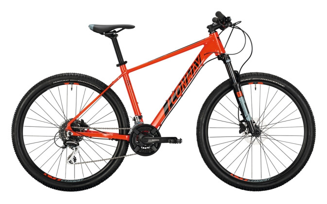 Mountainbike Conway MS 427 red / black 2021