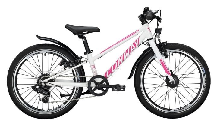 Kinder / Jugend Conway MC 200 Rigid white / pink 2021
