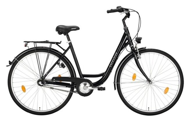 Citybike Excelsior Road Cruiser Alu schwarz 2021