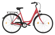 Citybike Excelsior Road Cruiser Alu rot