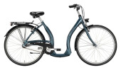 Citybike Excelsior Tiefeinsteiger Alu ND blau