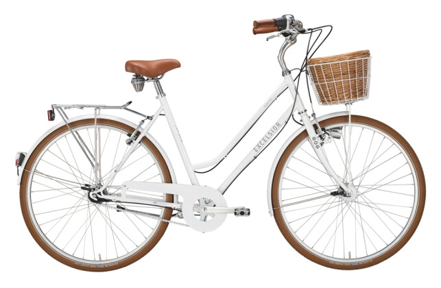 Citybike Excelsior Glorious weiß 2021