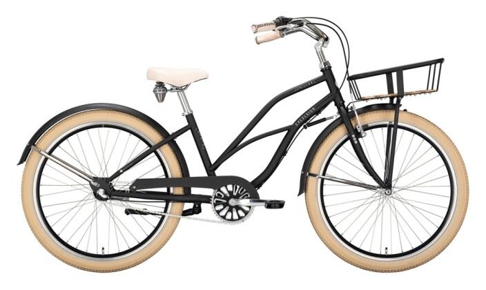 Citybike Excelsior Chillax schwarz 2021