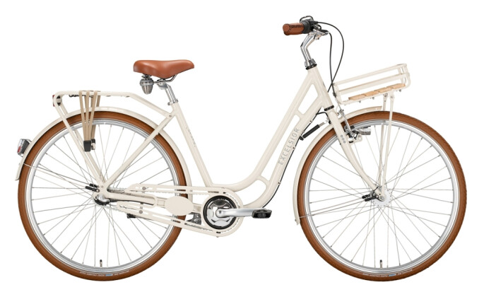 Citybike Excelsior Juicy weiß 2021