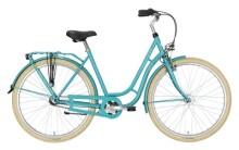 Citybike Excelsior Swan-Retro grün
