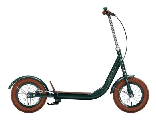Kinder / Jugend Excelsior Retro Scooter grün 2021