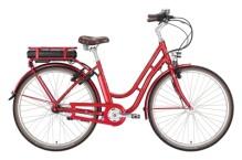 e-Citybike Excelsior Swan-Retro E rot