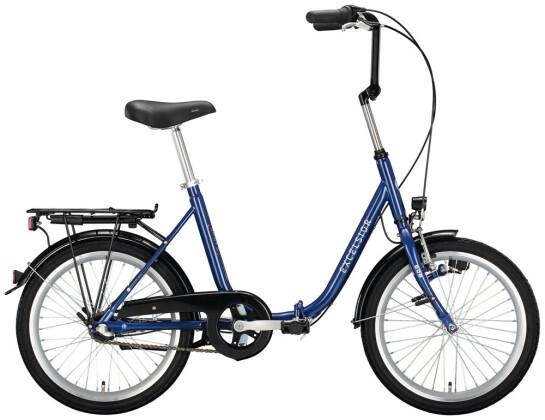 Faltrad Excelsior Klapprad blau 2021