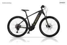 e-Mountainbike KAYZA Sapric 8 schwarz, beige
