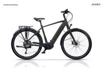 e-Trekkingbike KAYZA Talik Dry 7 schwarz