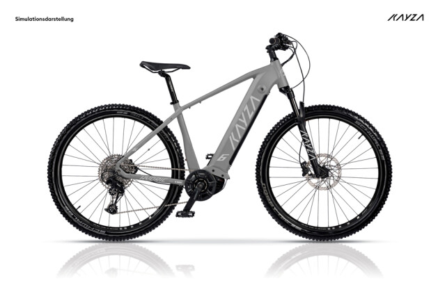 e-Mountainbike KAYZA Hydric 6 grau 2021