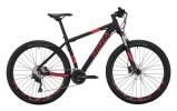 Mountainbike KAYZA Spodic 8 schwarz, rot