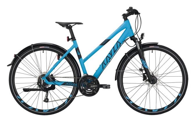 Trekkingbike KAYZA Niti Dry 4 blau, schwarz 2021