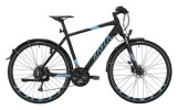 Trekkingbike KAYZA Norite Dry 4 schwarz, blau