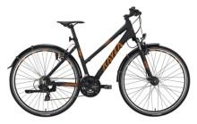 Trekkingbike KAYZA Niti Dry 2 schwarz, orange