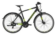 Trekkingbike KAYZA Norite Dry 2 schwarz, grün
