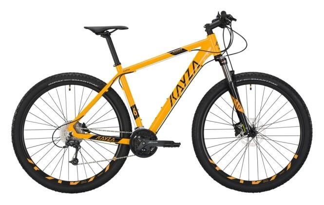 Mountainbike KAYZA Garua 6 gelb, schwarz 2021