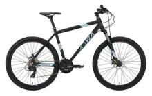 Mountainbike KAYZA Spodic 2 schwarz, blau