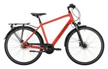 Citybike Victoria Trekking 1.9 rot, schwarz