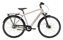 Citybike Victoria Trekking 125 weiß, braun