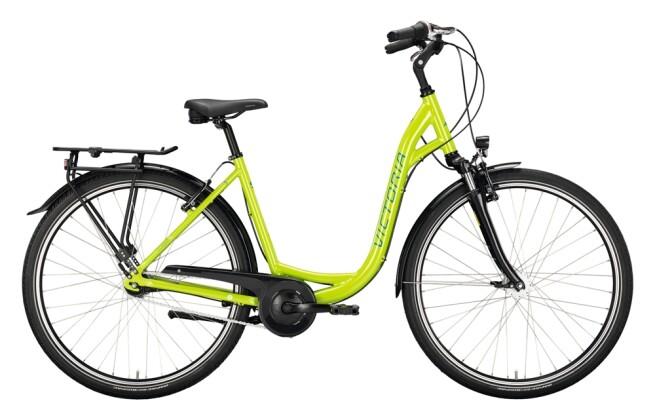 Citybike Victoria Classic 1.7 grün, weiß 2021