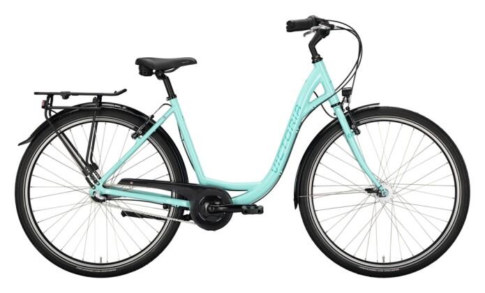 Citybike Victoria Classic 1.3 grün, weiß 2021