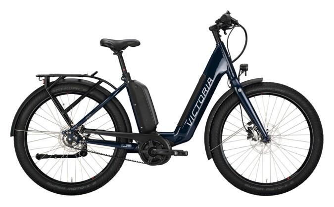 e-Citybike Victoria eUrban 13.8 blau, grau 2021