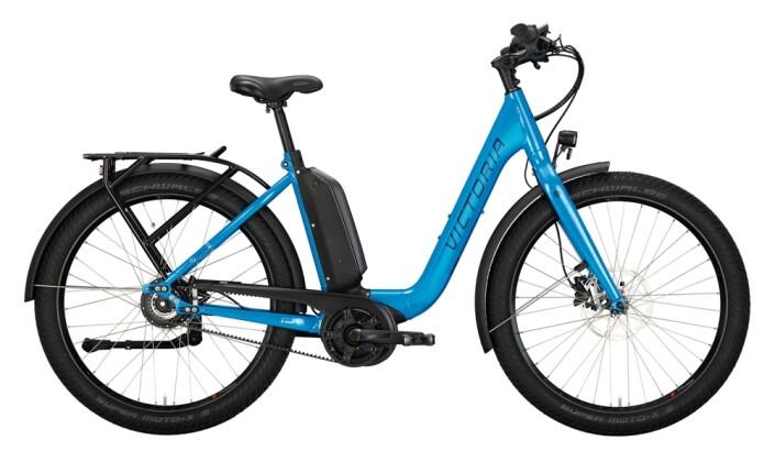 e-Citybike Victoria eUrban 11.9 blau, weiß 2021