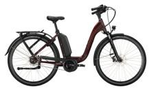 e-Citybike Victoria eManufaktur 9.8 rot, beige