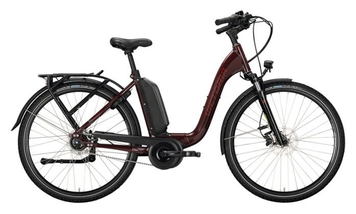 e-Citybike Victoria eManufaktur 9.8 rot, beige 2021