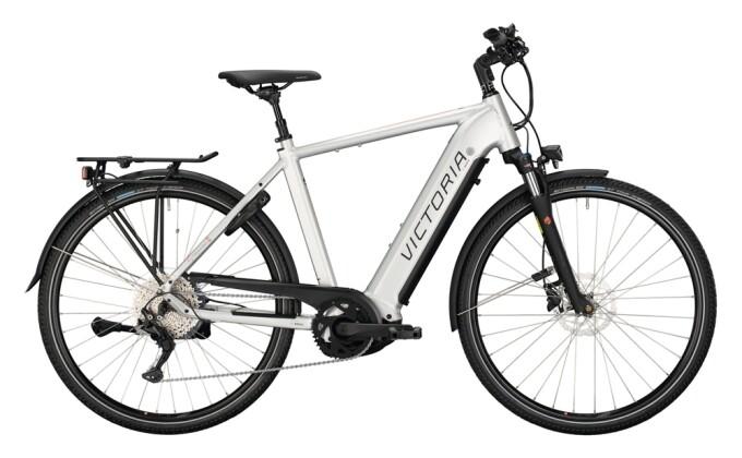 e-Trekkingbike Victoria eTrekking 12.8 silber, schwarz 2021