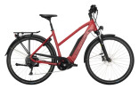 e-Trekkingbike Victoria eTrekking 10.8 rot, schwarz