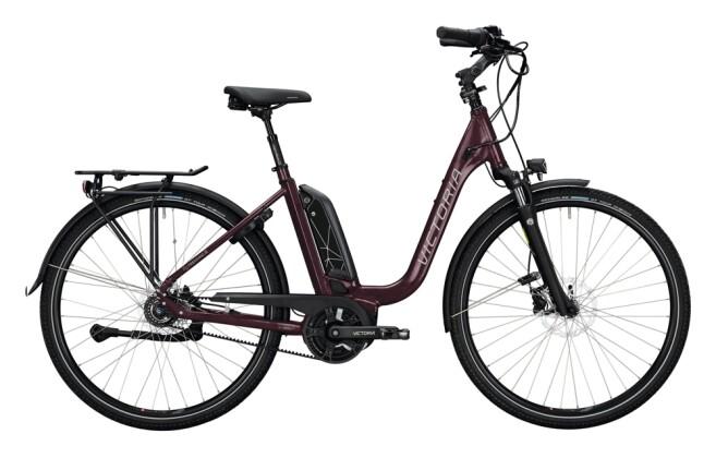 e-Citybike Victoria eTrekking 7.8 violett, grau 2021
