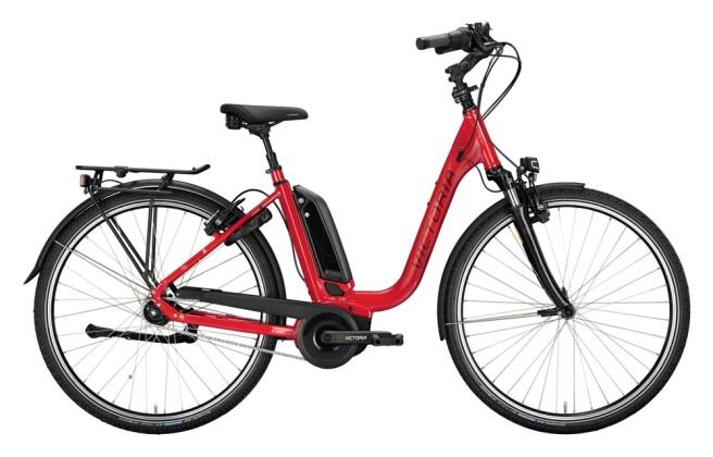 e-Citybike Victoria eTrekking 7.6 rot, grau 2021