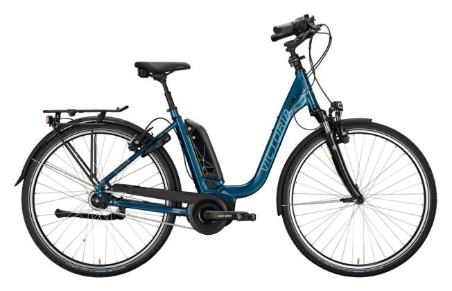 e-Citybike Victoria eTrekking 7.4 blau, grau 2021