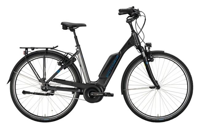 e-Citybike Victoria eTrekking 125 grau, blau 2021
