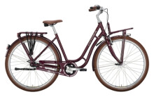 Citybike Victoria Retro 5.6 rot, braun